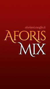 AforisMix - screenshot