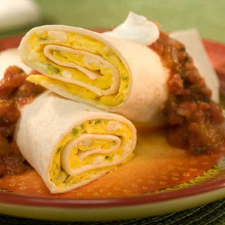 Tortilla Omelet Roll-up