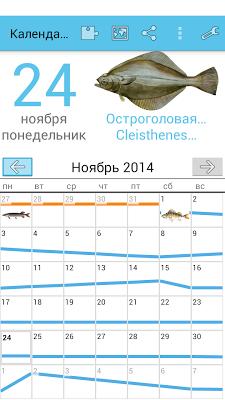 календарь рыболова спортсмена