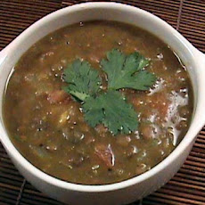 Indian-Spiced Lentil Soup
