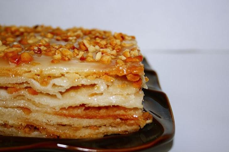 The Drunken Napoleon Cake