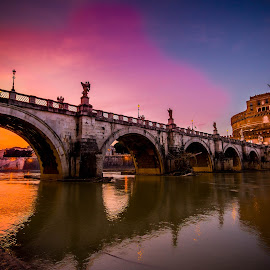 Castel St. Angelo by David Mikkelsen - City,  Street & Park  Historic Districts