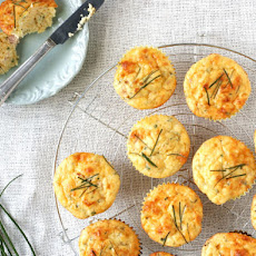 Ham and Cheese Muffins