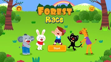 Screenshot of Forest Race