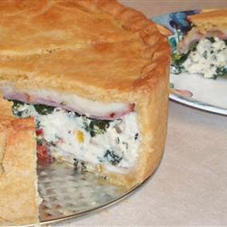 Spinach Torta Rustica Recipes