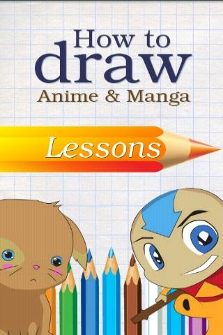how-to-draw-anime-manga for android screenshot