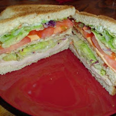 Victory's Triple Decker Club Sandwich