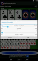 Screenshot of Poker Odds Calculator