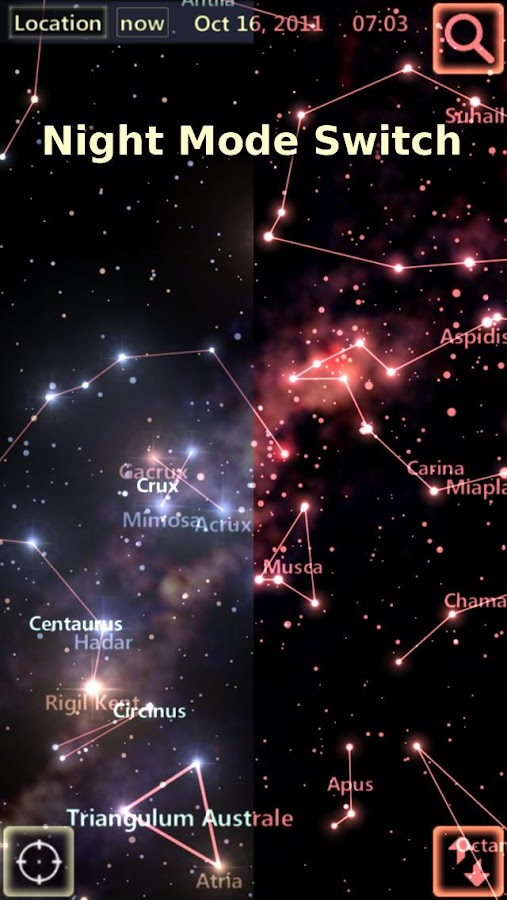 Star Tracker - Mobile Sky Map Screenshot 11