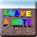 Leave A Note icon