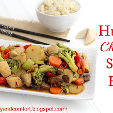 Hunan Chicken and Vegetables