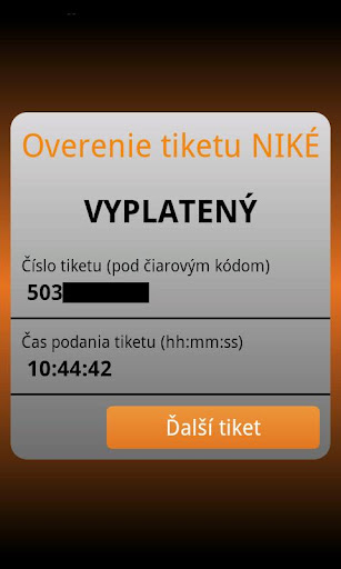 nike-tiket for android screenshot