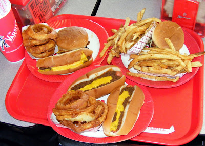 Varsity Fries, Rings, Burgers and Dogs