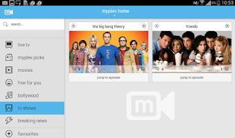 Screenshot of myplex Live Tv, Movies ,Videos