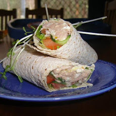 Cottage Cheese Tuna & Corn Relish Wraps Aust. Ww 5pts