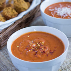 Quick & Healthy Tomato Bisque with Quinoa