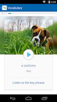 Screenshot of Learn Portuguese - busuu