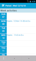 Screenshot of Kidoo : Triathlon diary