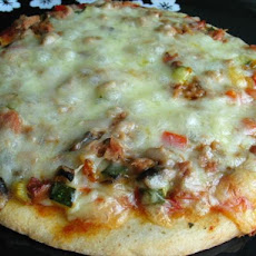 Chili Tuna Pizza