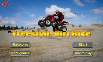 Screenshot of Freestyle Dirt Bike