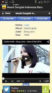 Musik Dangdut Indonesia Baru- screenshot thumbnail