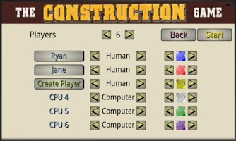 Screenshot of The Construction Game - Lite