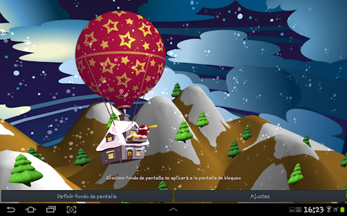 3D Santa Claus Wallpaper - screenshot