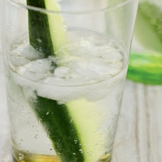 Cucumber gin is beautifully scented and refreshing and makes a perfect homemade Christmas gift