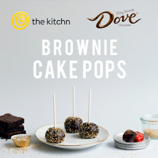 DOVE® Chocolate Brownie Cake Pops