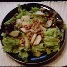 Pear and Roasted Walnut Salad