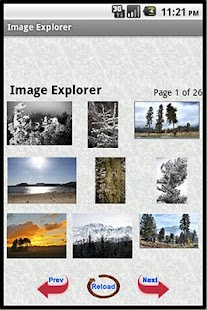 Image Explorer - screenshot