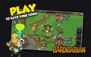 Screenshot of Bardbarian