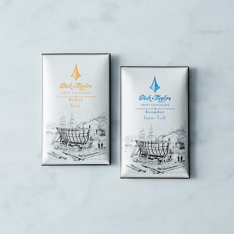 72% Belize and 76% Ecuador Single Origin Craft Chocolate Bars