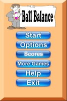 Screenshot of Ball Balance Game