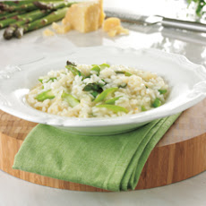 Asparagus Risotto With Chervil