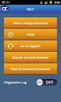 Screenshot of DataGard VPN + AV