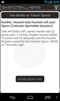 Screenshot of San Antonio Basketball News