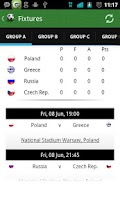 Screenshot of Euro 2012 Planner