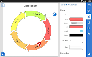 Screenshot of Grapholite Diagrams Pro