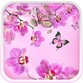 Pink Flowers Live Wallpaper APK for Bluestacks