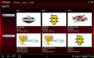 Screenshot of OSN Play