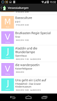 Screenshot of Graz Events