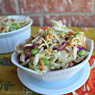 Ramen Noodle Salad with Asian Vinaigrette