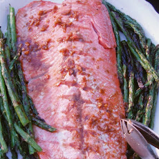 Maple Ginger Glazed Salmon