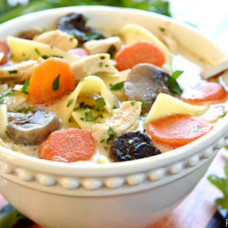 The Best Slow Cooker Chicken Noodle Soup