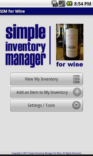 SIM for Wine