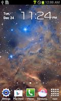 Screenshot of Galaxy Nebula Live Wallpaper