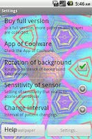 Screenshot of IamascopeLiveWallpaper LE