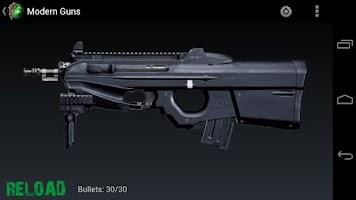 Screenshot of Modern Warfare Guns