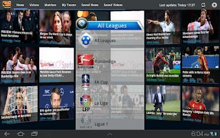 Screenshot of inFootball for Tablet (Soccer)